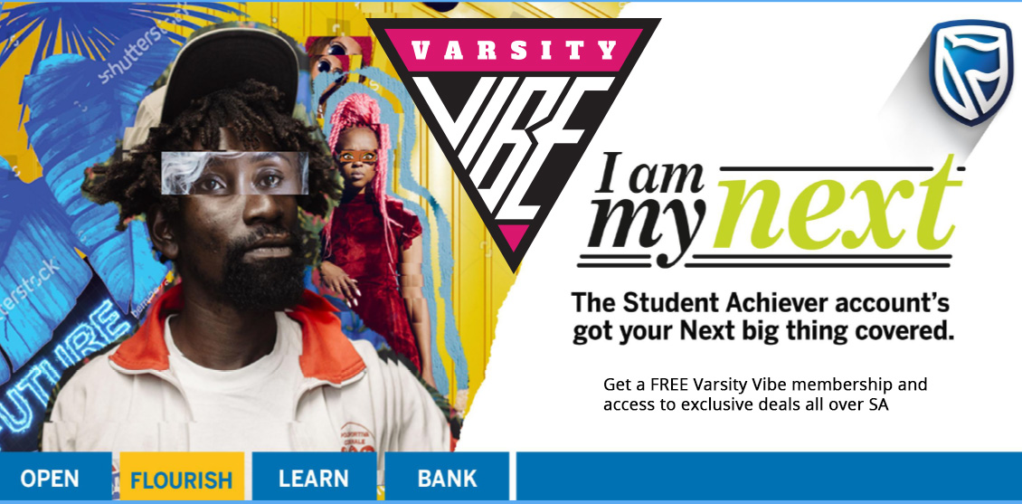 Standard Bank Student Achievers = FREE Varsity Vibe