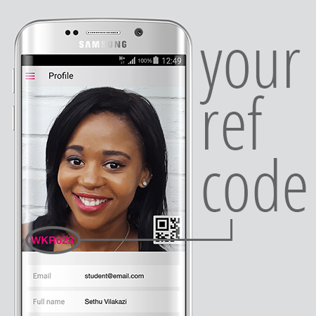 IA - Refer a friend earn r40 for every student you successfully recruit to varsity vibe - IA Refer a friend - Earn R40 for every student you successfully recruit to Varsity Vibe