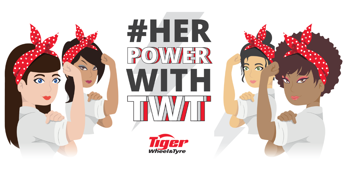 Celebrating Women's Month with Tiger Wheel and Tyre