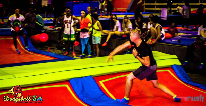 RUSH Dodgeball kicks off