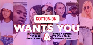Get 30% OFF at Cotton On and stand a chance to win MORE!