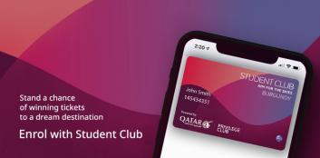 Qatar Airways Student Club!