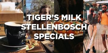 So many specials at Tiger's Milk!