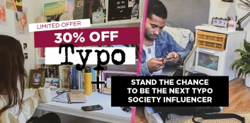 30% OFF at Typo