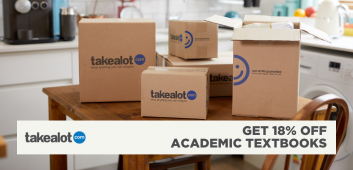 Take 18% off 'alot' of your textbooks